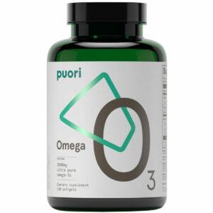 Puori O3 Ultra Pure Omega – 120 Softgel – IFOS Zertifiziert