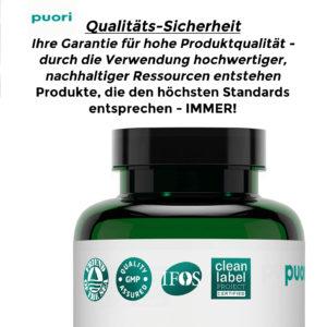 Puori M3 Magnesium 120 Kapseln – Magnesium+Zink+Vitamin B6-100% Vegan