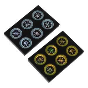 6x Strahlenschutz-Sticker für Handy's und Tablet's